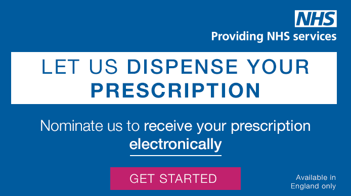 Nominate Click 2 Pharmacy to receive your prescription electronically