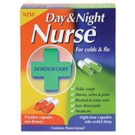Day & Night Nurse Capsules (24) - Click 2 Pharmacy