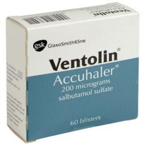 Ventolin Accuhaler 200mcg